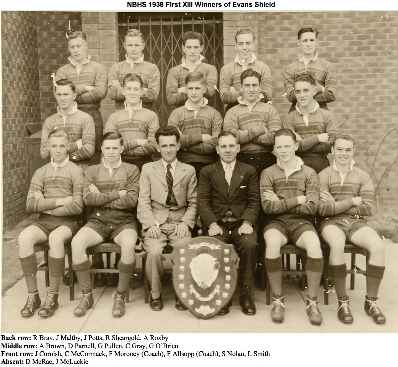 1938 1st Grade Rugby League